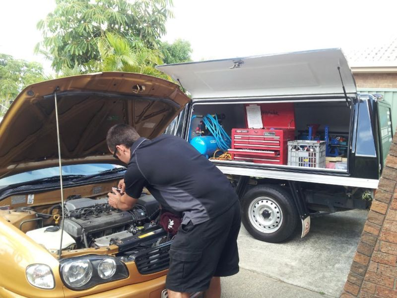 Basic & Major Service. Burleighs Mobile Mechanic. Servicing Southern Gold Coast. Basic car services & Major car Service without a void on new car warranty.